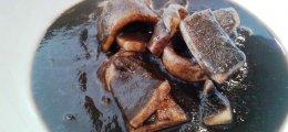 Calamares en su tinta en olla a presión